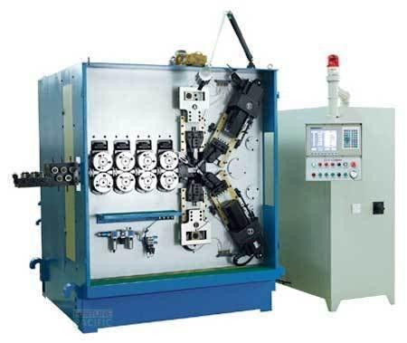 Scm90 c6 spring coiling machine