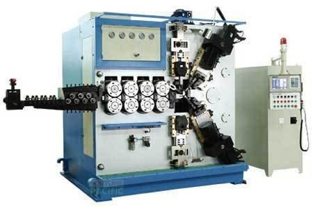 Scm120 c6 spring coiling machine