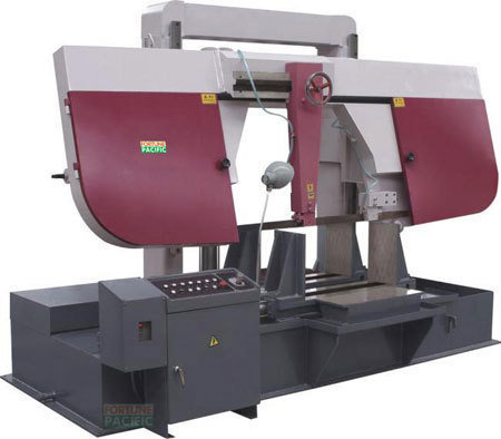 H650 h700 h800 dual column gantry band sawing machine