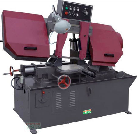 S280 pivot semi automatic band saw