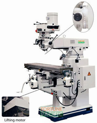 Mf33 universal turret milling machine
