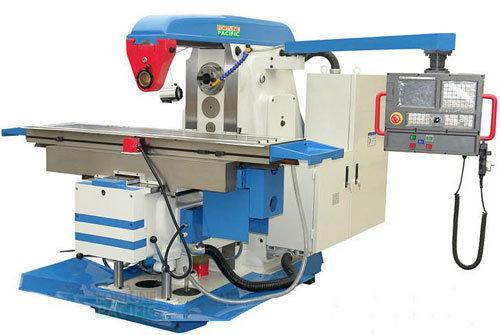 Uhm40 nc heavy duty horizontal knee type milling machine