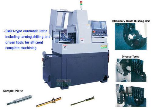 Xknc sl07 sl071 swiss type cnc automatic lathe