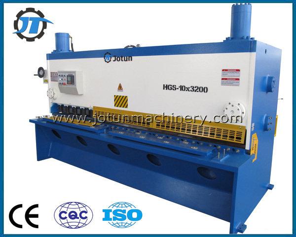 China jotun metal shearing machine