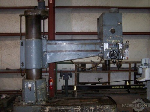 10014 7x20 polamco radial drill photo 1