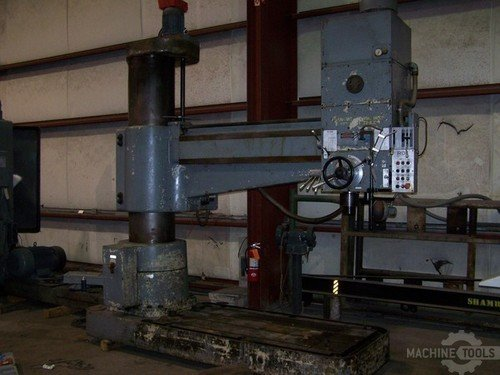 10014 7x20 polamco radial drill photo 2