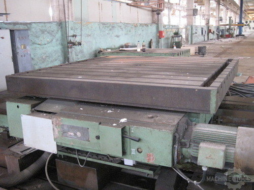 Rotary table 2200 x 2200 mm