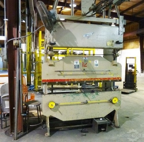 Di acro hydra power hydro mechanical model 16 72 25 ton press brake2