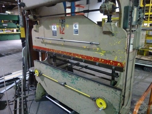 Di acro hydra power hydro mechanical model 16 72 25 ton press brake3