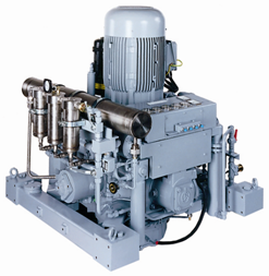 Compressors from 1500 to 5000 psi water cooled 5000 series