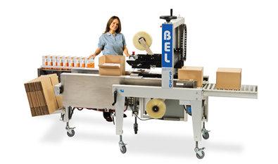Semi automatic form pack and seal unitized machine bel150u medium1