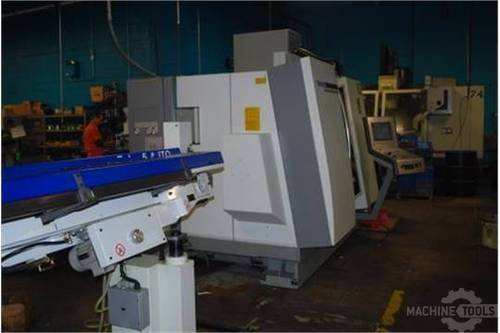 Deckel maho gildemeister model 65 twin turret spindle live tool cnc lathe  2005 3