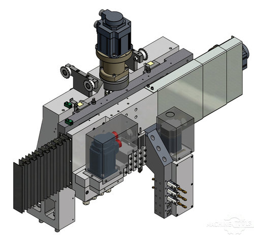 Cad drawing of y axis