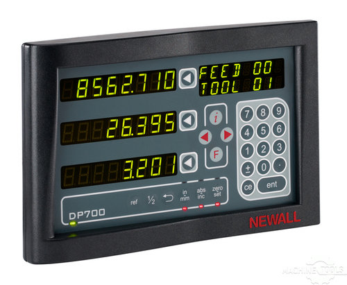 Optional newall dp700 dro