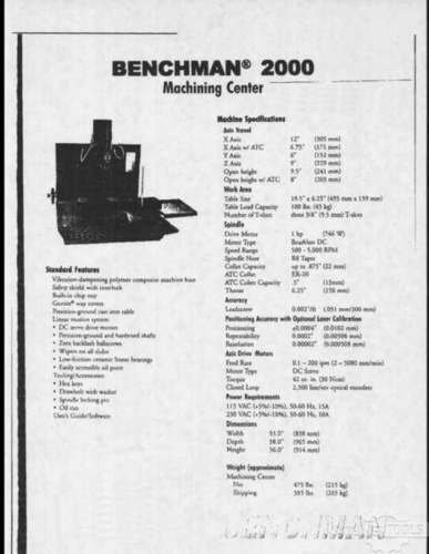 Benchman 1