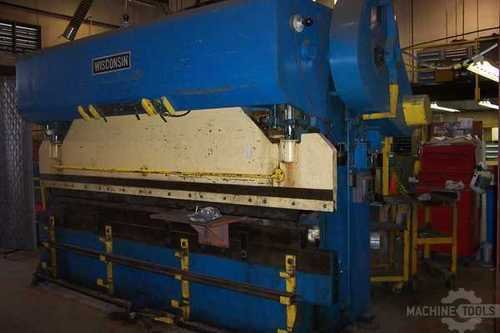 Wisconsin press brake   front view   pic.1 1