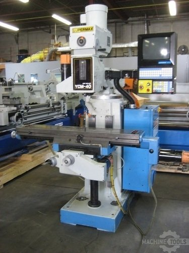 Supermax cnc knee mill 007