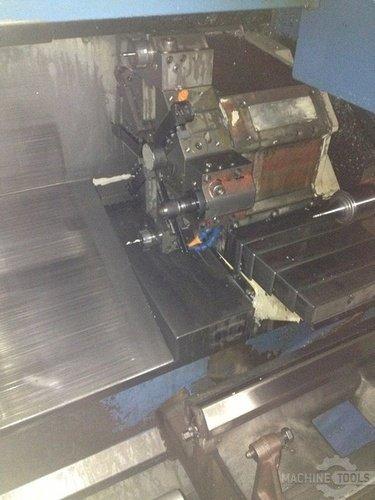 Mazak model qt15n 2 axis slant bed cnc lathe  1992 4