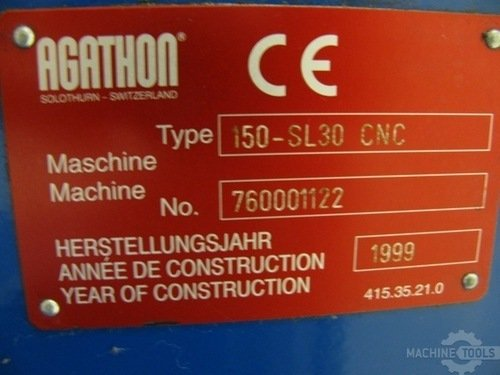 4386 cnc centerless grinder agathon 150 sl30  1