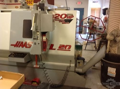 2002 haas sl 20t chip auger