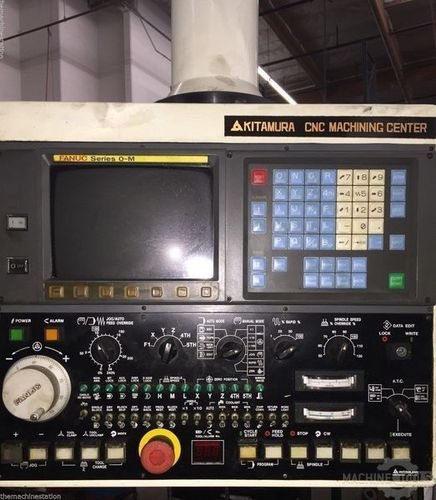 Kitamura mycenter 4 cnc vertical machining center