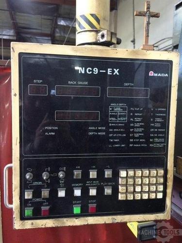 110 ton amada rg 100 cnc press brake 2488 b