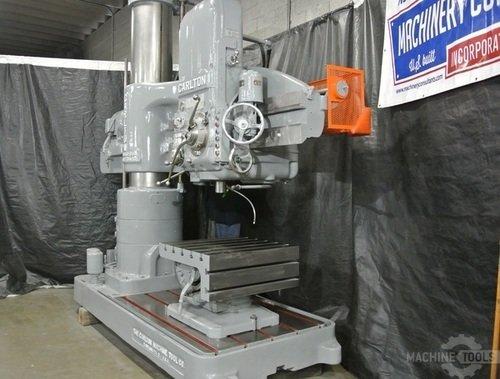 Carlton 5 x17 radial arm drill 3a3601  777 2