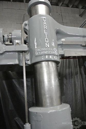 Carlton 5 x17 radial arm drill 3a3601  777 6