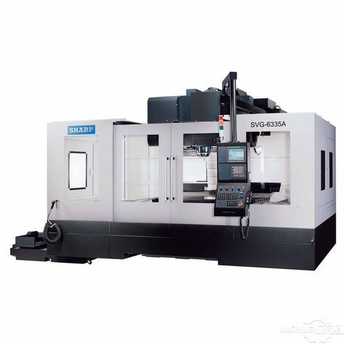 Vertical machining center model  svg 6335a