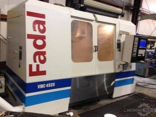 Fadal 4525 cnc vertical machining center   11