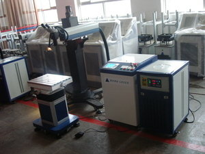 Bmii ultra size mould laser welding machine  b