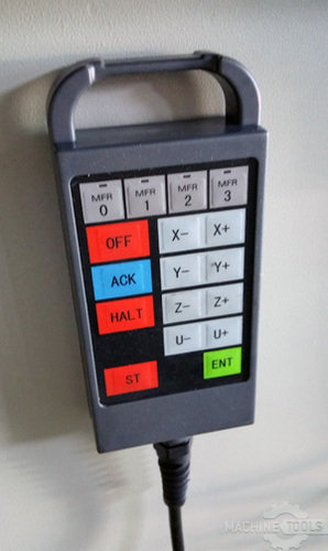 Hand control box