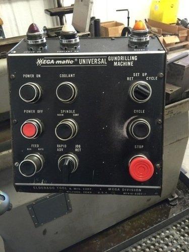 Eldorado gun drill console