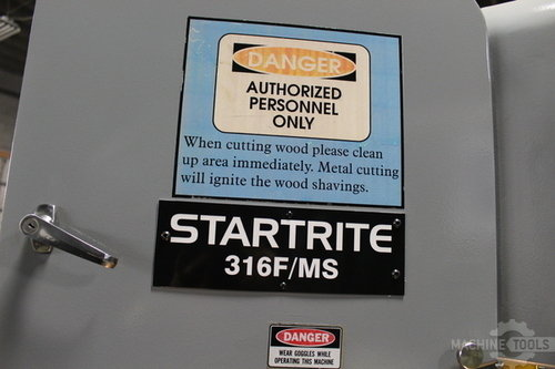 Startrite 316f ms vertical saw 95306  639 11