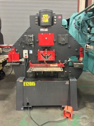 Edwards 120 ton ironworker front view