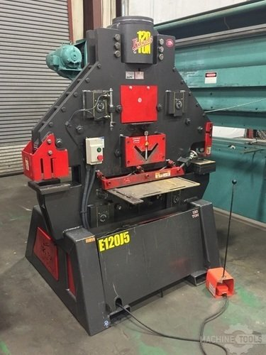Edwards 120 ton ironworker side view