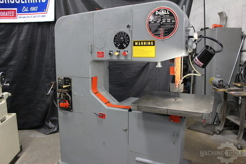 Doall vertical saw 399 83487  6813  1