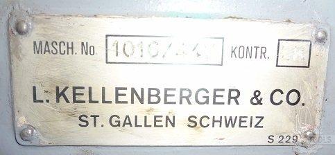 Kellenberger ur1000 unv cyld grd label