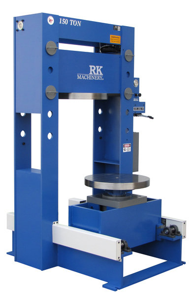 Roll-in-fork_lift_tire_press_150_side