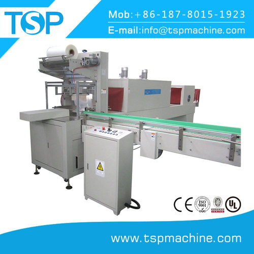 Automatic l type shrink wrapping machine