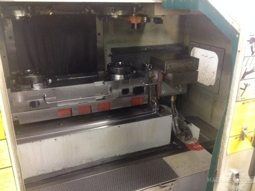 Mitsui seiki vs5a ds cnc dual spindle vertical machining center 2606d