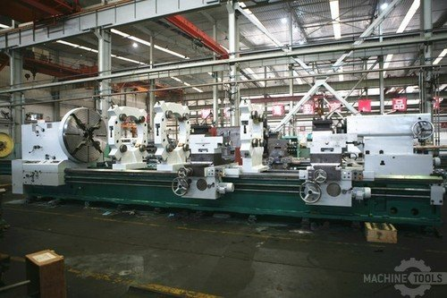 D f cf61200h lathe with double carriage 2