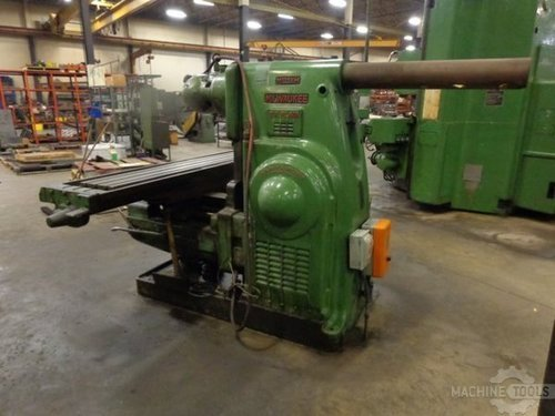Milwaukee 5h horizontal mill 1