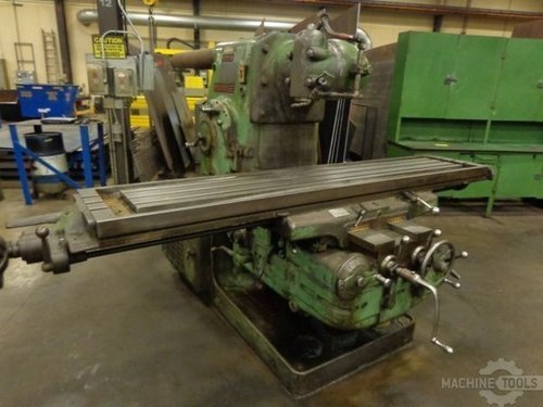 Milwaukee 5h horizontal mill 8
