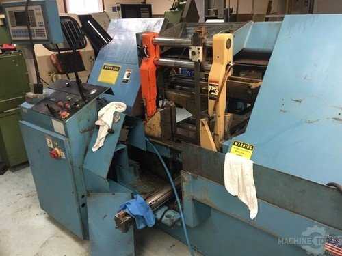 2001 doall c 4100nc band saw side