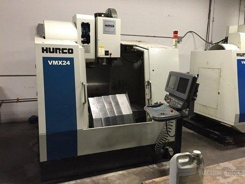 Hurco model vmx24 3 axis cnc vertical machining center  2000