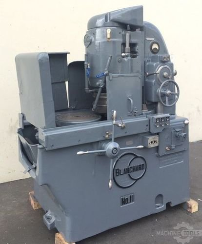 Used rotary surface grinder