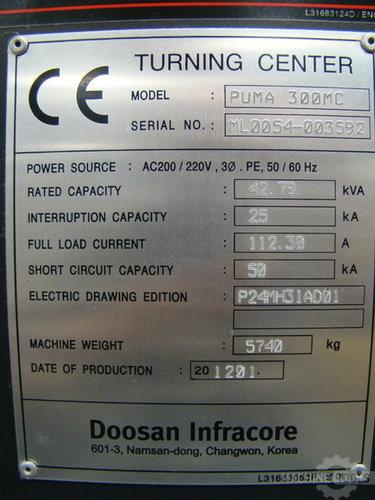Puma 300m   serial number