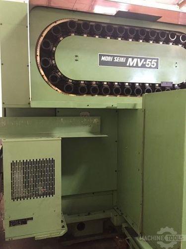 Used_mv55-50_mori_seiki_machining_center
