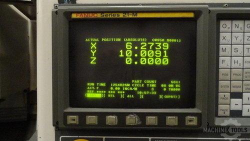 9991   daewoo mynx 500 vertical machining center 07